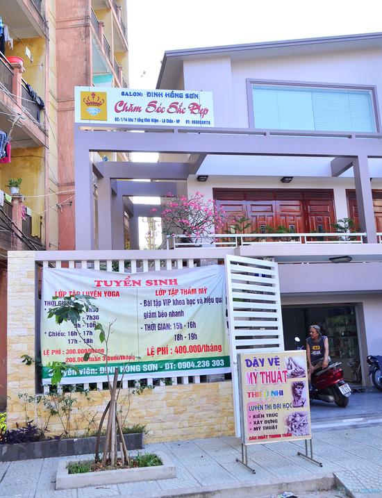 Lựa chọn Khóa học thẩm mỹ hoặc Yoga tại trung tâm của HLV Đinh Hồng Sơn - Chỉ với 200.000đ - 3