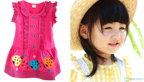 Đầm mặc nhà bé gái từ 2 -3 tuổi - 7