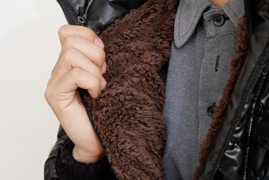 Áo phao dày lót lông cho nam - 4