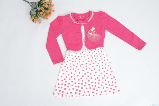 Bộ váy áo đính con công cực xinh xắn và đáng yêu - 2