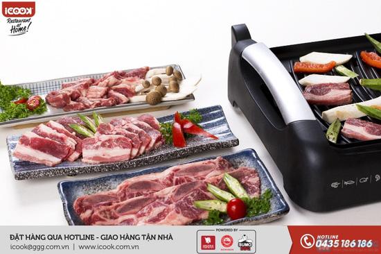 Combo thịt bò Mỹ Sumo BBQ - 1