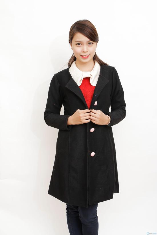 Áo khoác dạ đại hàn 2 lớp - 5