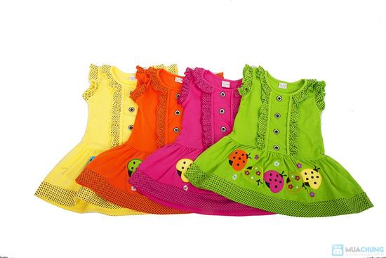 Đầm mặc nhà bé gái từ 2 -3 tuổi - 5