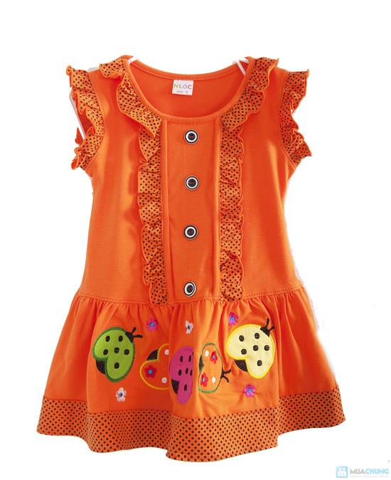 Đầm mặc nhà bé gái từ 2 -3 tuổi - 3