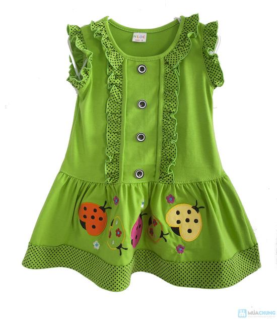 Đầm mặc nhà bé gái từ 2 -3 tuổi - 1
