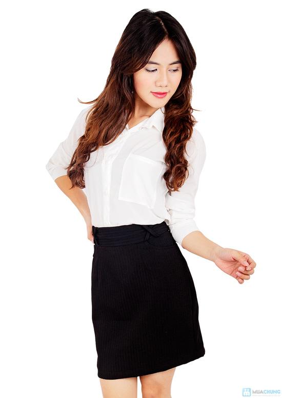 Chân váy ngắn công sở - 3