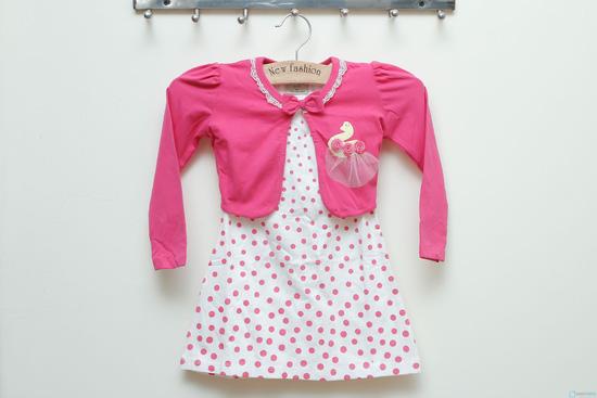 Bộ váy áo đính con công cực xinh xắn và đáng yêu - 9