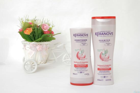 Bộ dầu gội + xả Keranove - 1