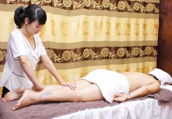 Massage body bấm huyệt hỗ trợ giảm béo tại Evi Spa - 3