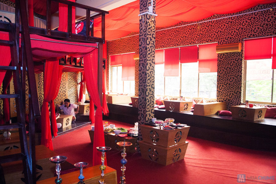 Cơm trưa + Buffet rau + trái cây tráng miệng + nước uống cho 02 người tại Nhà hàng Magic Lounge - 4