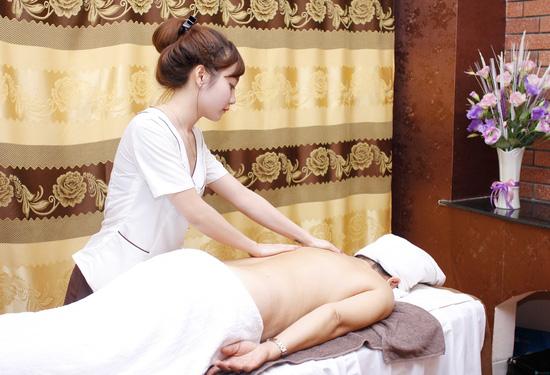 Massage body bấm huyệt hỗ trợ giảm béo tại Evi Spa - 4