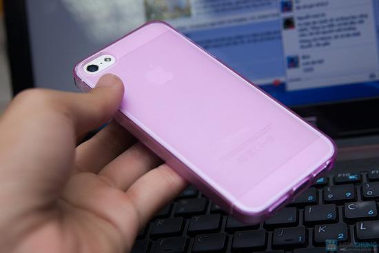 Miếng dán màn hình + Ốp lưng silicon Iphone 5 - 7