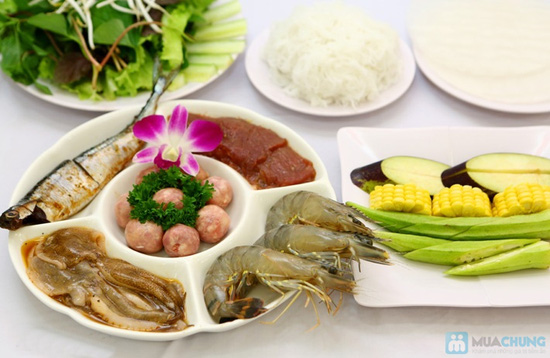 Phần hải sản nướng dành cho 2 người tại Yumei quán - 18