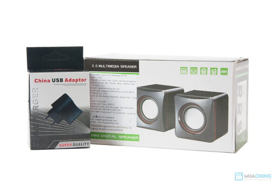 Loa vi tính mini HomeEasy SP120 - 1