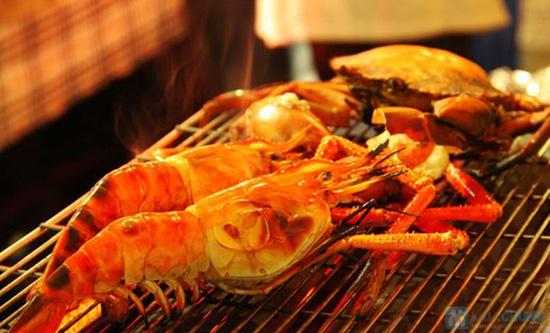 Phần hải sản nướng dành cho 2 người tại Yumei quán - 11