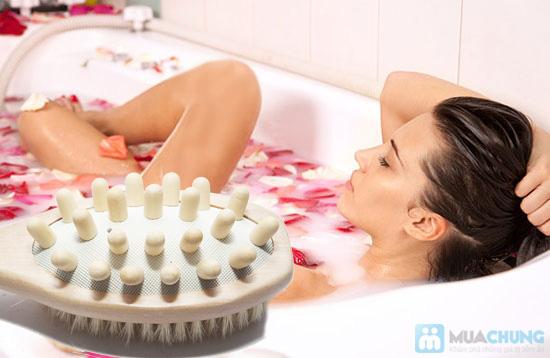 Bàn chải tắm và massage body & mind - 8