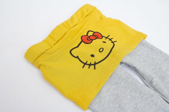Bộ quần áo cotton nỉ cho bé - 2