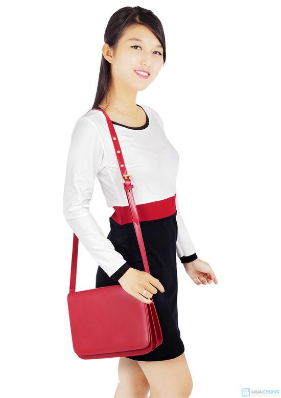 Đầm thun tay dài thời trang công sở Mina - 5