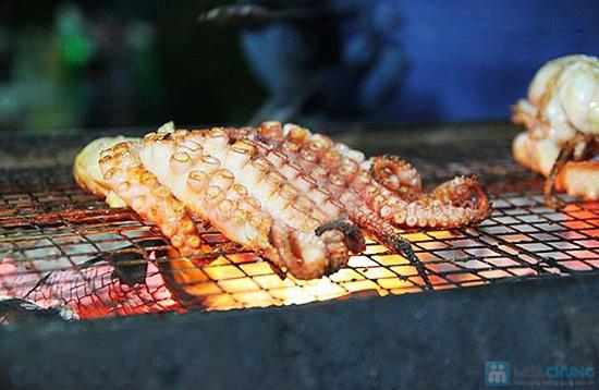 Phần hải sản nướng dành cho 2 người tại Yumei quán - 7