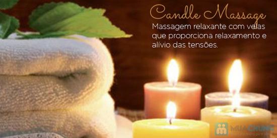 Massage body bằng nến + Đắp mặt nạ mặt bằng bột yến mạch trộn mật ong tại Spa D'oro - 2