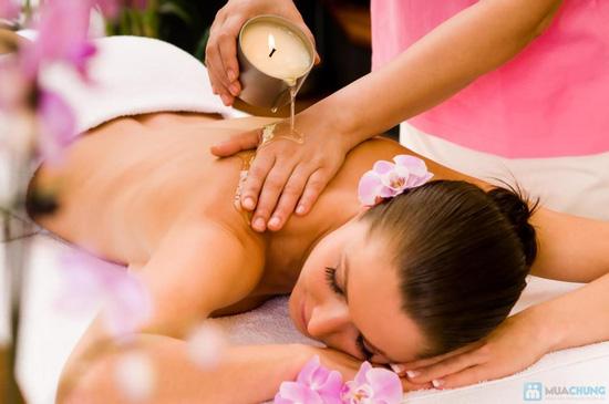 Massage body bằng nến + Đắp mặt nạ mặt bằng bột yến mạch trộn mật ong tại Spa D'oro - 1