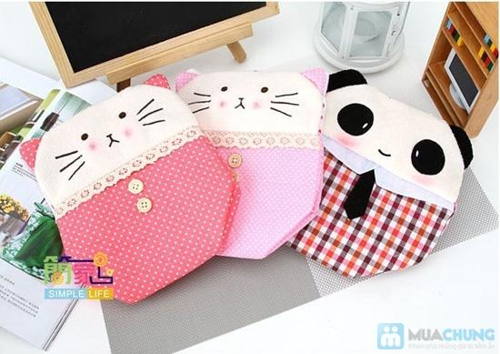Hộp vải đựng khăn giấy Panda Kitty - 7