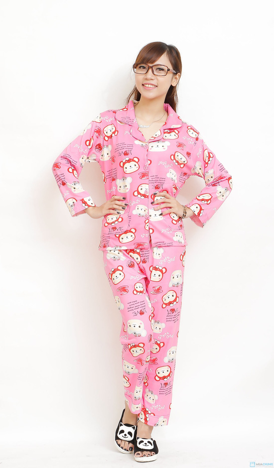 bộ pijama cho bạn gái - 1