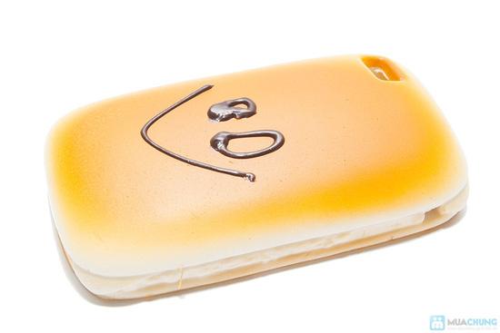 Ốp lưng iphone kiểu bánh mì ngộ nghĩnh - 5