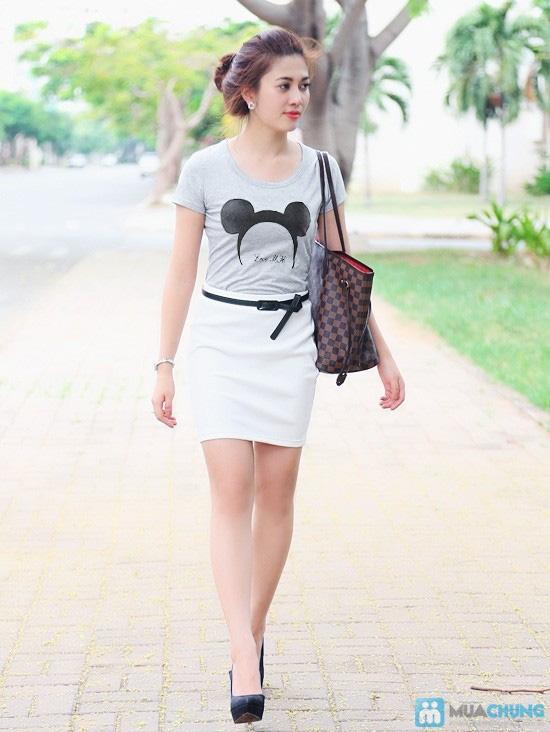 Áo thun nữ mickey - 7