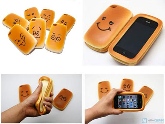 Ốp lưng iphone kiểu bánh mì ngộ nghĩnh - 12