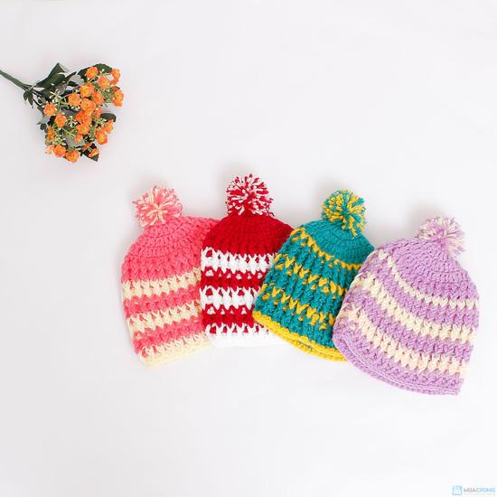 Mũ len móc cho bé - 1
