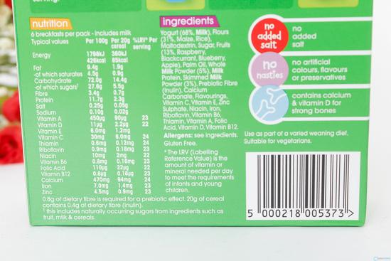 Combo 6 hộp bột ngũ cốc Heinz cho trẻ trên 4 tháng - 8