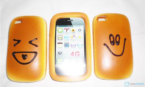 Ốp lưng iphone kiểu bánh mì ngộ nghĩnh - 9