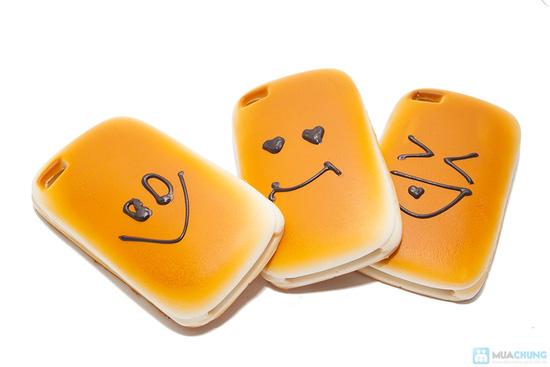 Ốp lưng iphone kiểu bánh mì ngộ nghĩnh - 3