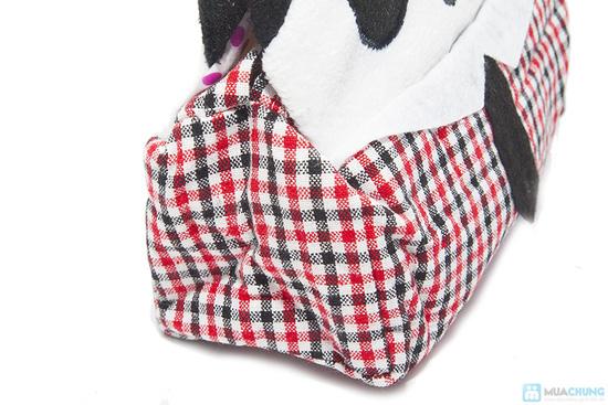 Hộp vải đựng khăn giấy Panda Kitty - 2
