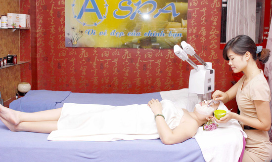 Chăm sóc da mặt mùa hanh khô bằng liệu pháp collagen tại A Spa - 8