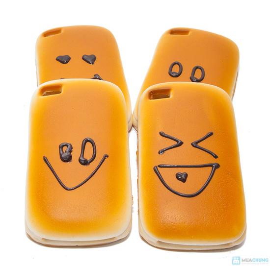 Ốp lưng iphone kiểu bánh mì ngộ nghĩnh - 4