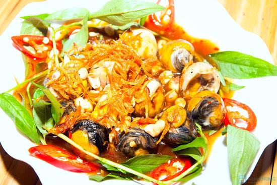 Set ăn 04 món hải sản tươi ngon, phong phú cho 2 - 3 người tại Quán Ốc Ken - 5