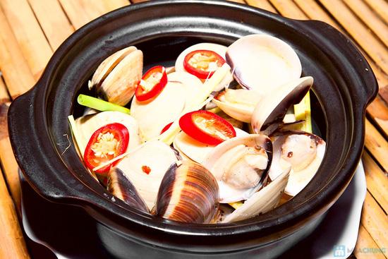 Set ăn 04 món hải sản tươi ngon, phong phú cho 2 - 3 người tại Quán Ốc Ken - 3
