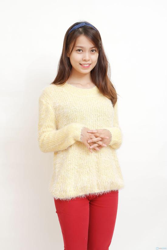 áo len bông xù - 2