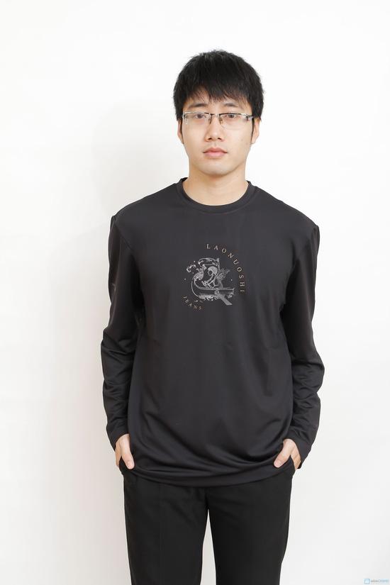 áo phông dài tay cao cấp (43493) - 1