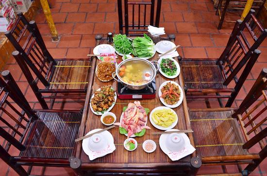 Lẩu gà đồi thơm ngon tại Nhà hàng Nhím No1 - Chỉ 360.000đ - 5