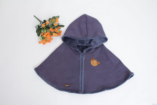 Mũ choàng xinh xắn và ấm áp cho bé - 3