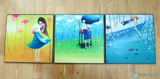 Bộ tranh nghệ thuật sinh động cho các bé - 5