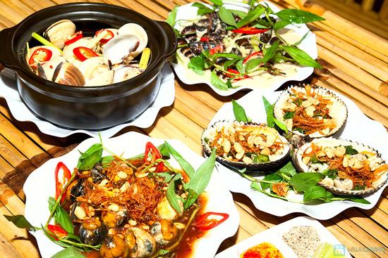 Set ăn 04 món hải sản tươi ngon, phong phú cho 2 - 3 người tại Quán Ốc Ken - 7