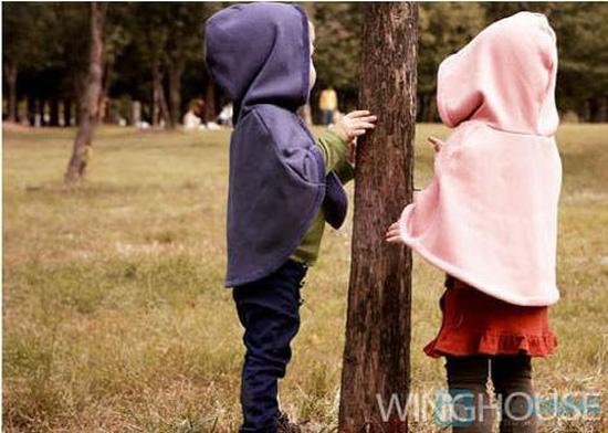 Mũ choàng xinh xắn và ấm áp cho bé - 4