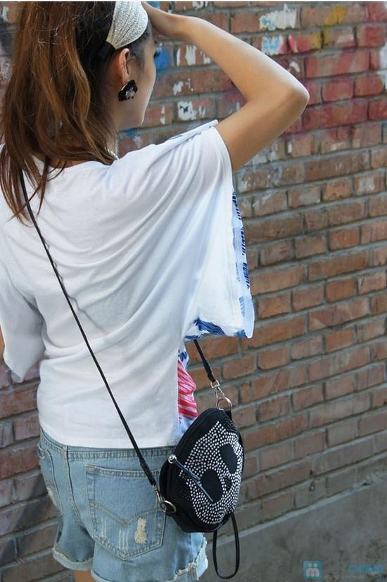 Túi đeo chéo đính hạt - 3
