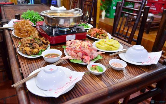 Lẩu gà đồi thơm ngon tại Nhà hàng Nhím No1 - Chỉ 360.000đ - 9