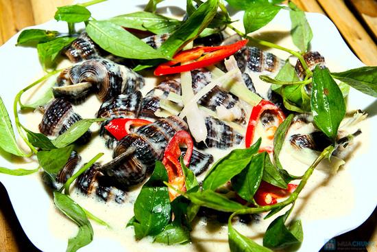 Set ăn 04 món hải sản tươi ngon, phong phú cho 2 - 3 người tại Quán Ốc Ken - 4