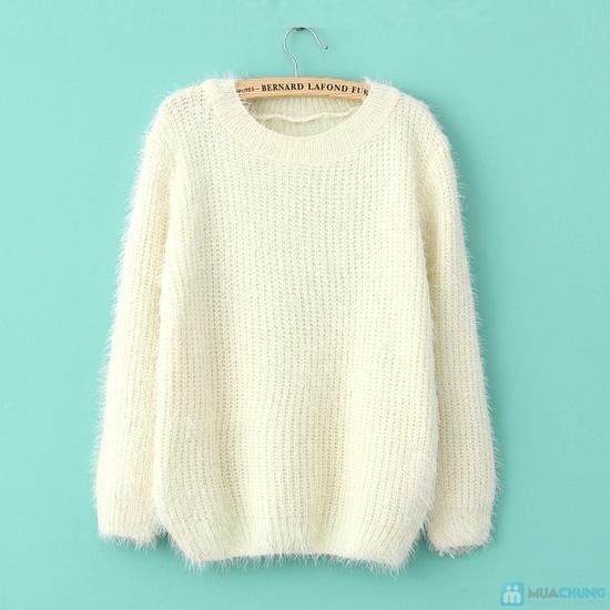 áo len bông xù - 19